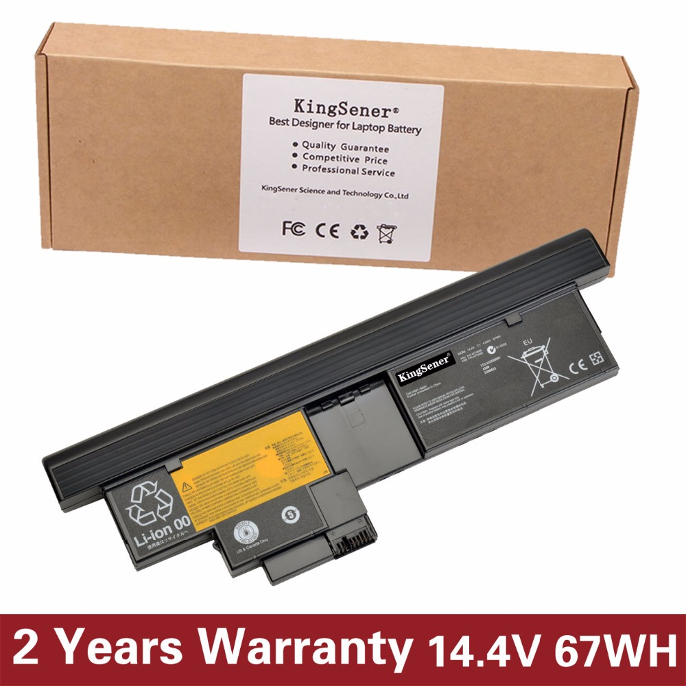 KingSener Japanese Cell New Laptop Battery for Lenovo ThinkPad X200T X201T 42T4658 42T4565 8CELLS 14.4V 4.6AH/67WH 5200mah 6 cells replacement laptop battery for ibm thinkpad r60 r60e t60 t60p lenovo thinkpad r500 t500 w500 laptop batteria