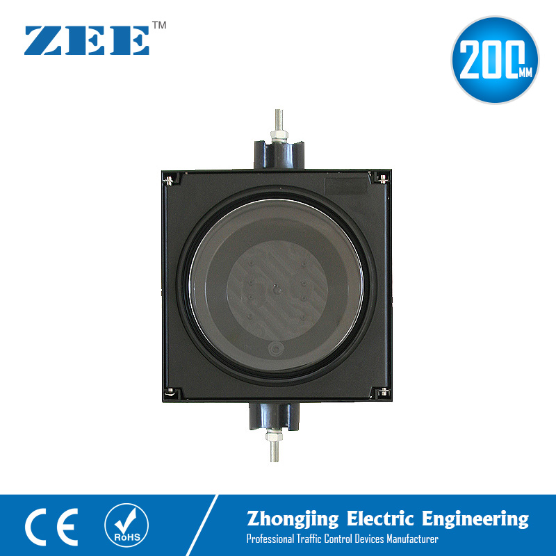 8inches 200mm LED Traffic Light Housing PC Plastic Housing Parts IP65 Water Proof UV Proof Traffic Signal Accessories