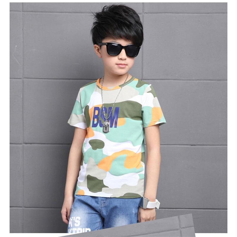 Novatx baby boy camiseta de verano de manga corta camiseta del muchacho verde azul camiseta para los niños 2017 nuevos muchachos de los cabritos ropa