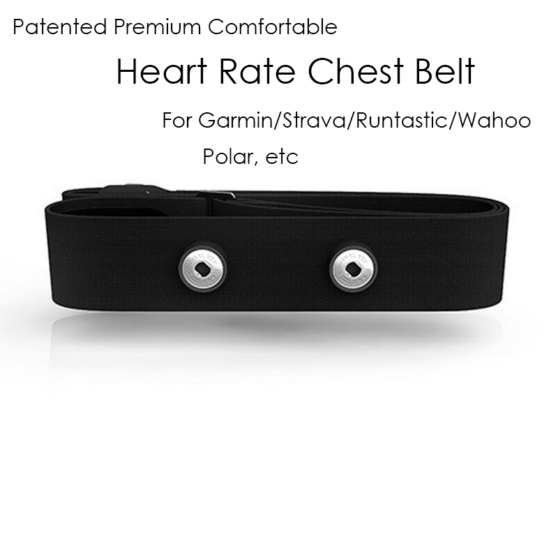 Chest Belt Strap For Garmin Wahoo Polar Runtastic Wireless Sports Heart Rate Monitor Watch Suitable For ANT+ Bluetooth 4.0/ 5.3K