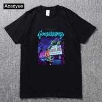 TRAVIS SCOTT Gänsehaut Nacht der Lebenden Dummy 2 männer und frauen T-Shirt Tees Kleidung sommer hip hop top baumwolle t-shirt