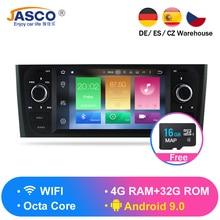 Android 9,0 4G Оперативная Память автомобиля стереонаушники DVD для Fiat Grande Punto Linea 2007 2008 2009 2010 2011 2012 автоматическое радио GPS навигации