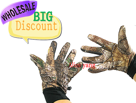 Wholesale New Camo Remington Hunting Gloves A4 Free Shipping In