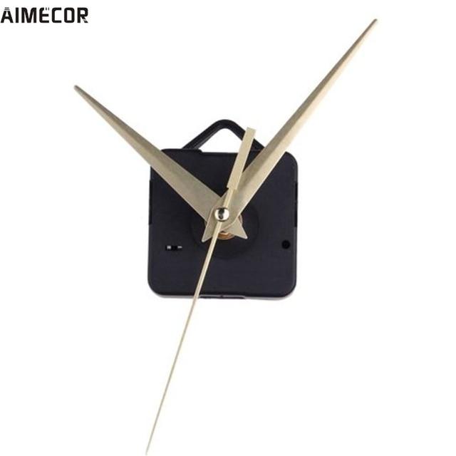 Aimecor Happy Gifts High Quality Quartz Gold Clock Movement Mechanism Hands DIY Repair Replacement