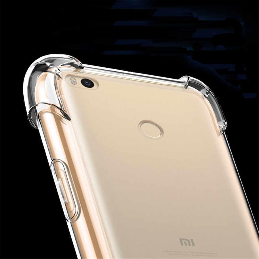 スーパーアンチノック TPU 電話保護 xiaomi 8 SE F1 A2 Lite A1 5s プラス 5C RedMi 6 プロ 5 S2 6A 5A 4A 4X 注 3 4 Y1 Y2 ケース