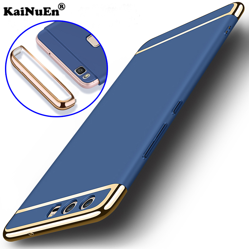 KaiNuEn luxury original phone protector back etui,coque,cover,case for huawei p10 lite plus p 10 p10lite p10plus hard plastic pc