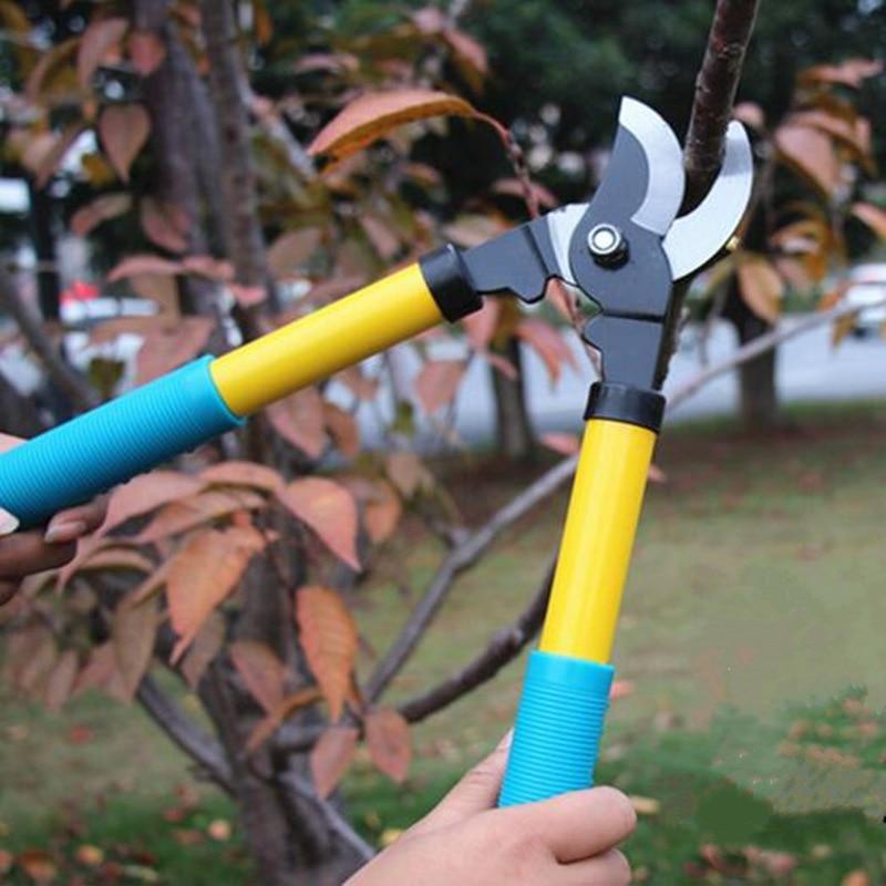 New Fruit tree pruning shears gardening effort scissors flower bonsai pruners trimmfer cutter grafting cutting garden tool