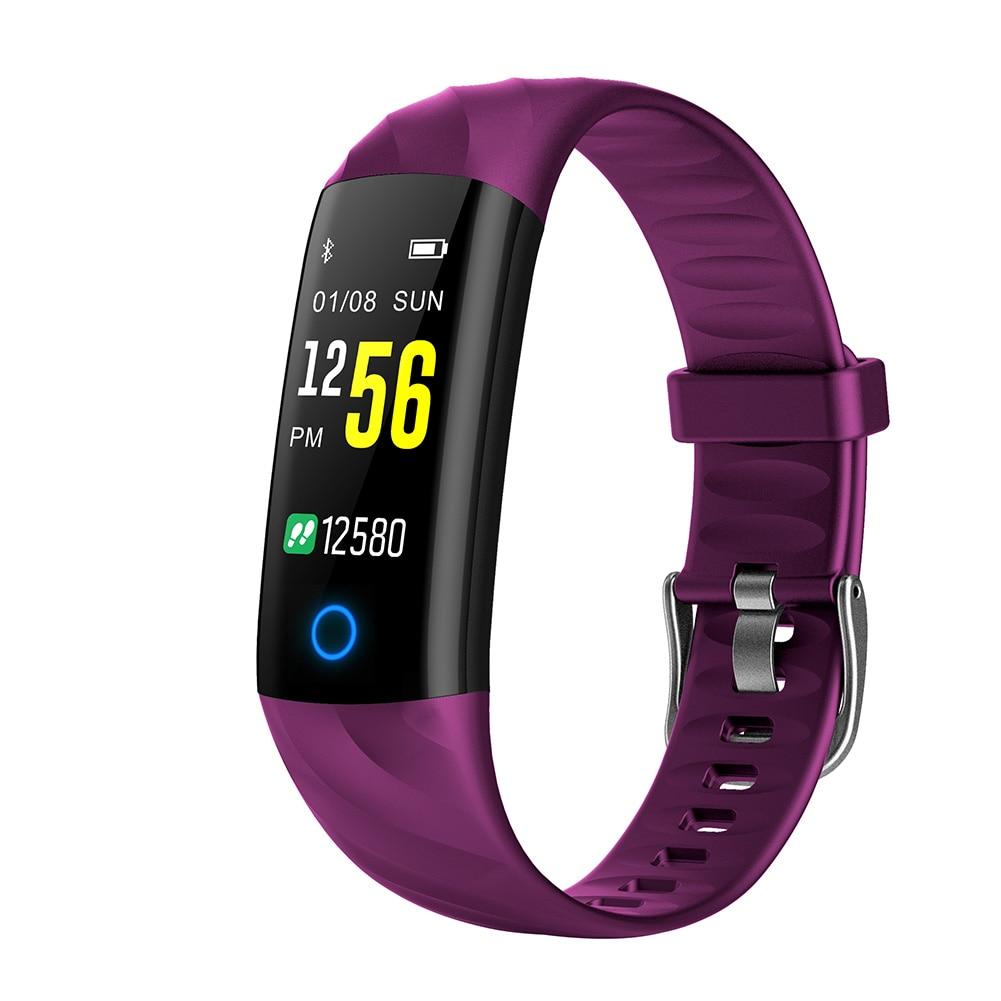 S5 0,96 Zoll Bildschirm Bluetooth Armband Herz Rate Monitor Wasserdichte Tragbare Schlaf Monitor Anruf Erinnerung Blutdruck Elegant Im Geruch Intelligente Armbänder Tragbare Geräte