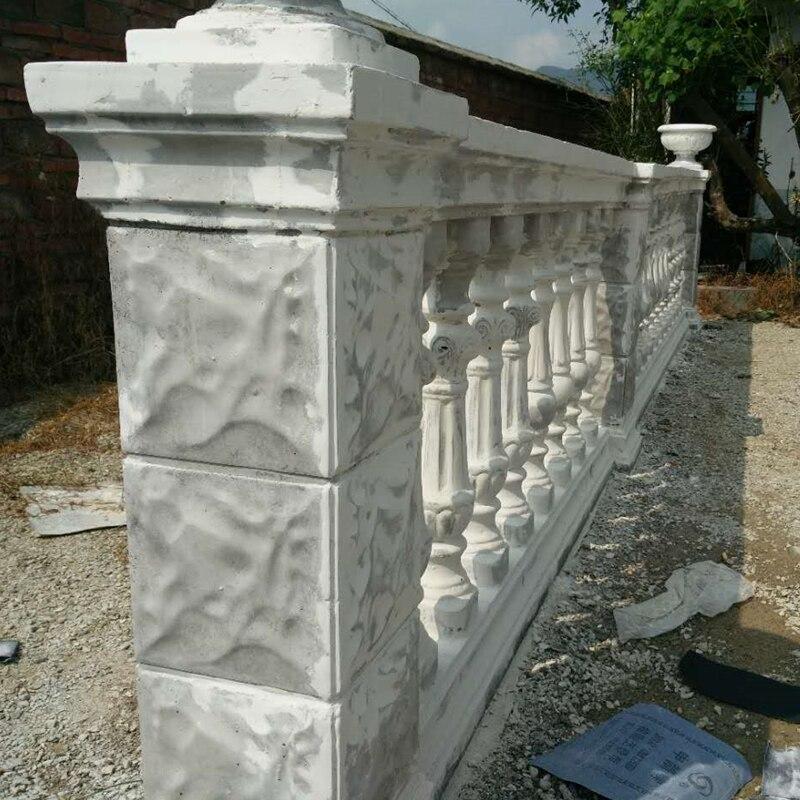 ABS GRC Construction Culture Stone Orchid Lotus Maple Balcony Home Gardening Durable Precast Cement Guysum Corner Pedestal Mold