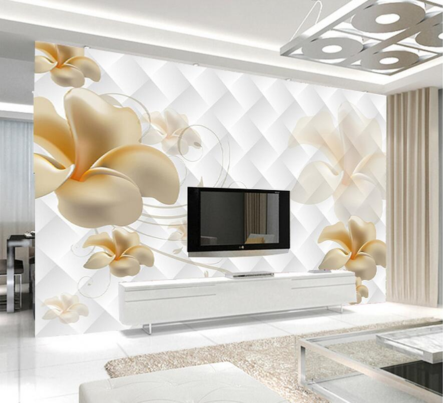 3d embossed abstract wallpaper hd wall mural for living - Wallpaper design for living room price ...