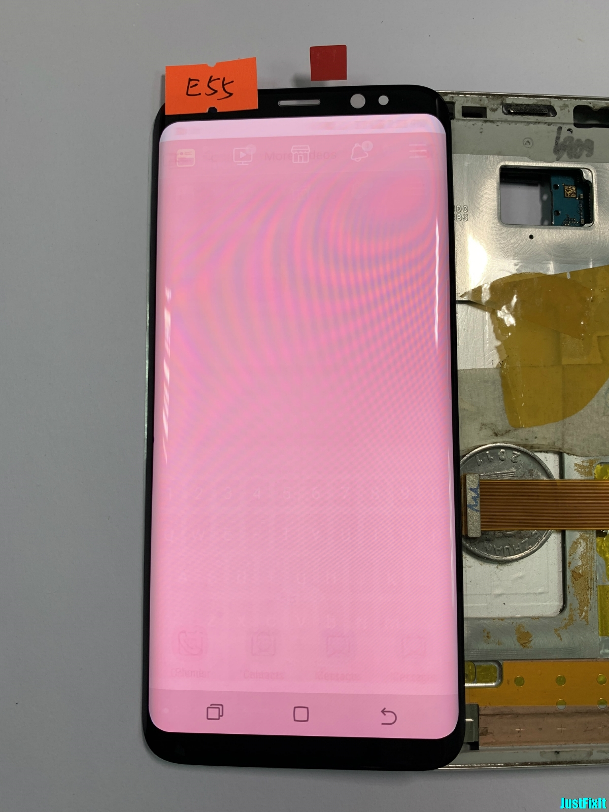 NO.E55 For Samsung Galaxy S8 G950f G950fd G950u Burn-in shadow Lcd Display Touch Screen Digitizer Super AMOLED ScreenNO.E55 For Samsung Galaxy S8 G950f G950fd G950u Burn-in shadow Lcd Display Touch Screen Digitizer Super AMOLED Screen