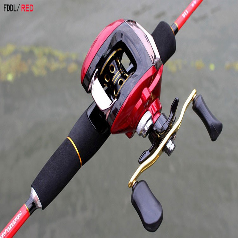 цены Baitcasting Reel Ball Bearings Fishing Gear Water Drop Wheel Right/Left Hand Tackle Lure Reel Speed Bait casting 6.3:1