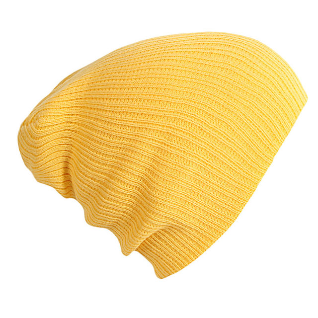 Soft 100% Acrylic Cable Knit Stretch Beanie Hats Women Men s Autumn Winter  Skull Caps Yellow Brown Navy Gray Hot Pink Ivory f95e2a8d814