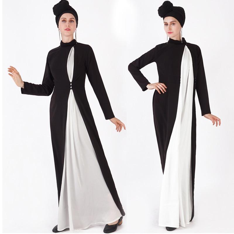 Caftan Abaya dubaï Hijab robe musulmane turquie Jilbab Caftan Ramadan Abayas pour femmes Tesettur Elbise turc vêtements islamiques