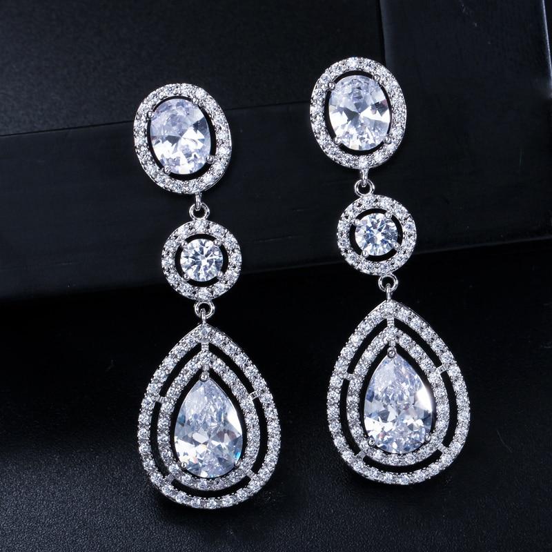 CWWZircons Super Luxury կանանց զգեստների զարդեր - Նորաձև զարդեր - Լուսանկար 5