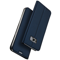 Luxury Leather Flip Case For Samsung Galaxy S8 Case Plus Samsung S8 Case Protective Stand Wallet