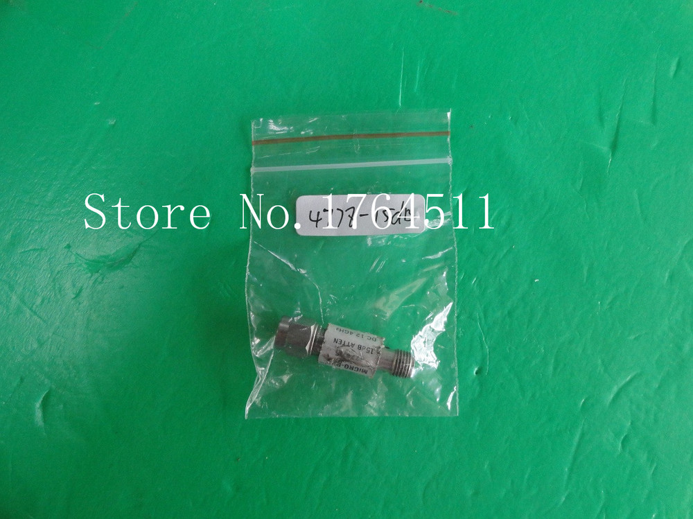 [BELLA] NARDA 4778-15 DC-12.4GHz Att:15dB P:2W SMA Coaxial Fixed Attenuator  --2PCS/LOT