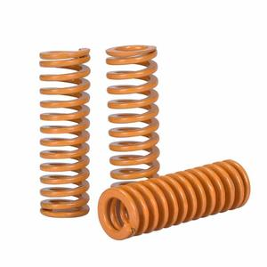 3D Printer Springs Length 25mm OD 8mm ID 4mm Light Load Compression Mould Die Spring Yellow for for Creality CR-10 10S Ender 3(China)