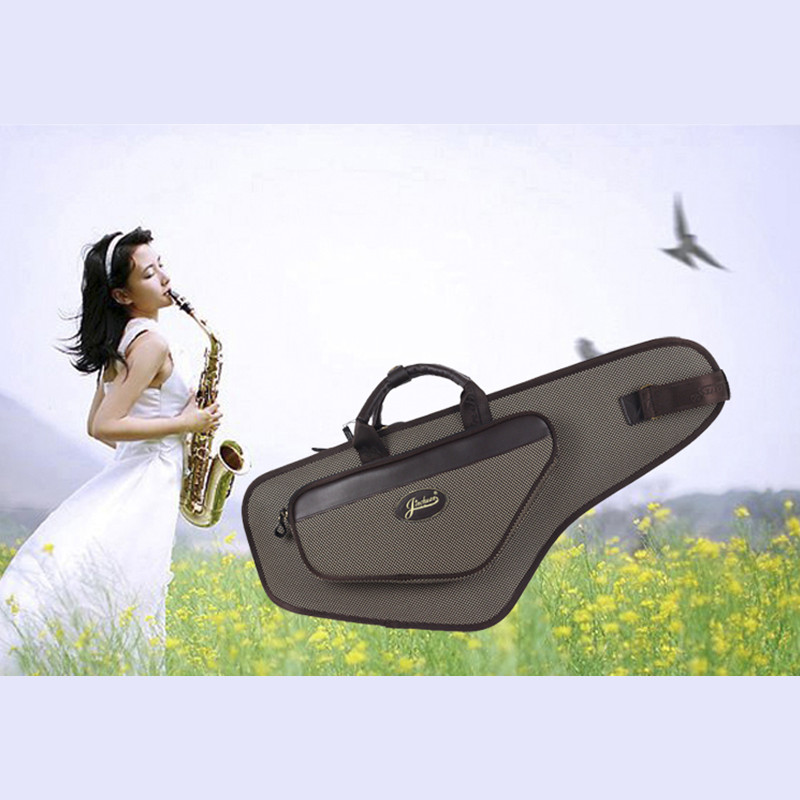 64*27*14cm professional portable durable alto saxophone bag B sax gig case waterproof luxury backpack soft padded strap thicker high grade new wholesale professional portable tenor saxophone bag bb sax gig case waterproof backpack soft cover padded thicker