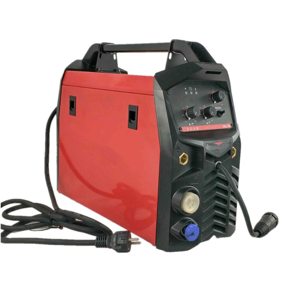 MIG Welding Machine 180A 3in1 Multifunction Welding Equipment MMA/Stick MIG/MAG Spool Gun 15AK Torch IGBT Inverter Welder сотовый телефон elari cardphone black