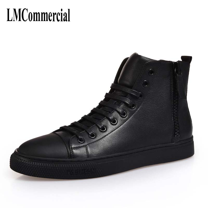 Autumn and winter men casual shoes leather shoes breathable sneaker fashion boots handmade fashion boots men 2017 new spring british retro men shoes breathable sneaker fashion boots men casual shoes handmade fashion comfortable breathabl