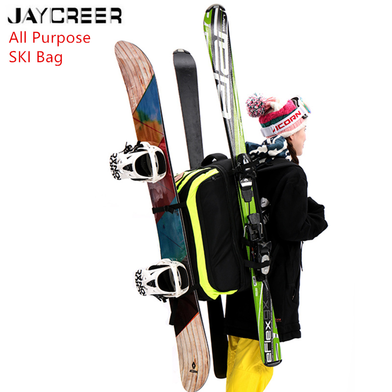 JayCreer 73L SKI Snowboard Boot Bag title=