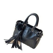 New Female Casual Handbag Women Fur Ball And Tassel Side Zippers Bag Ladies Designer Casual PU Leather Shoulder Bag