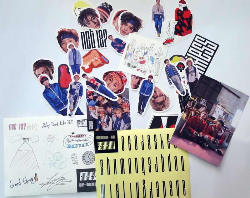 NCT 127 NCT127 autographed signed mini2nd album NCT #127 LIMITLESS  CD+photoboook official korean version 012017
