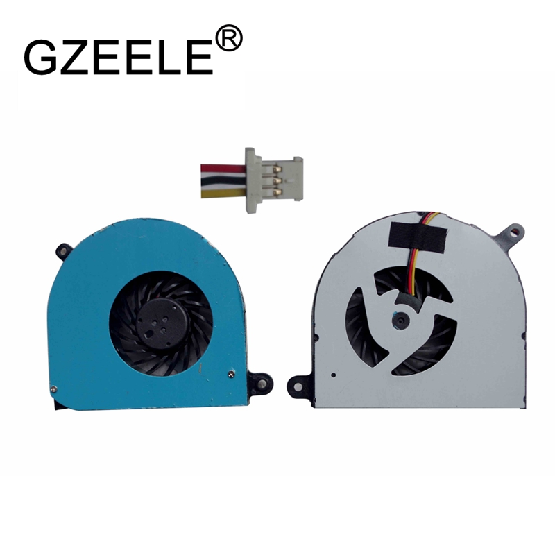 GZEELE new Laptop cpu cooling fan for DELL for Inspiron 17R N7010 KSB0505HA Series Notebook Cooler Radiator Computer Replacement
