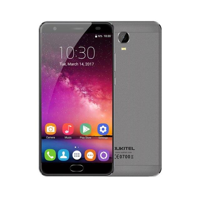 "OUKITEL K6000 ПЛЮС Смартфон 4 ГБ RAM 64 ГБ ROM MTK6750T Octa Ядро 5.5 ""Экран FHD 16MP Камера 6080 мАч 4 Г Мобильный Телефон Android 7.0"