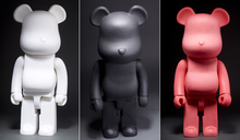 High quality ! 55cm Bearbrick Be@rbrick matt DIY PVC Action Figure Bearbrick Blocks vinyl doll 3 color can collection,