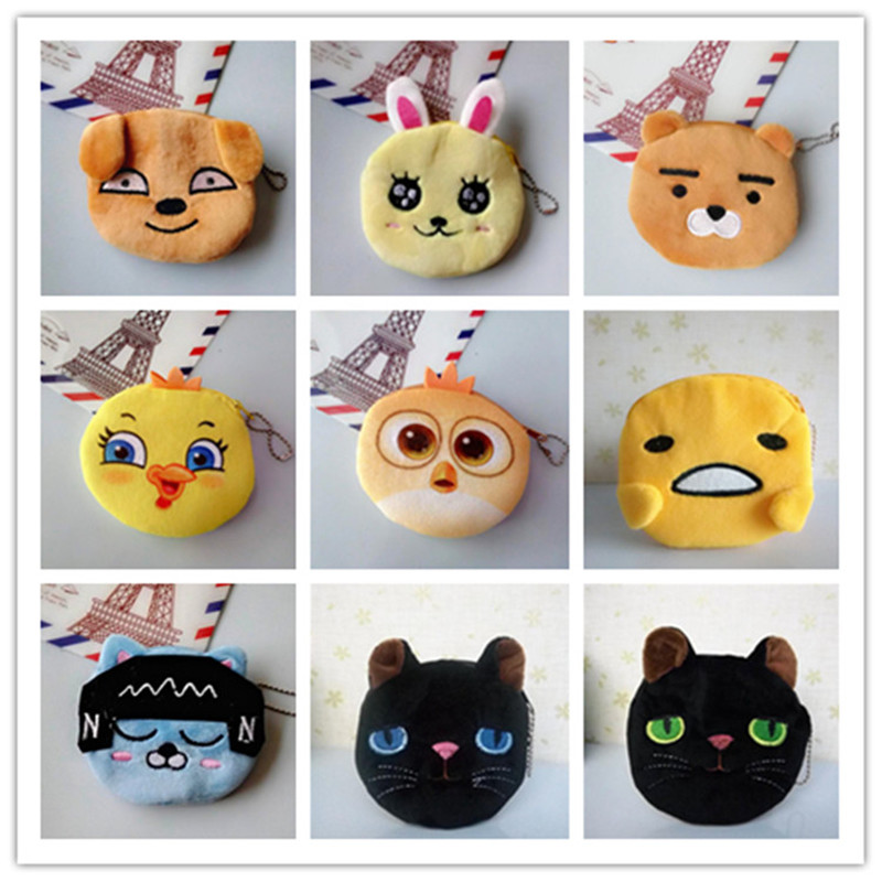 Cute Purses kids Creative boys' ball animal shape Toy Gifts Small Organizer Pouch Black Cat Coin Purse For Boy Carteras Mujer christmas gifts cat toys cute short hair pet shop collections white pink yellow tabby black orange super hero kitty animal