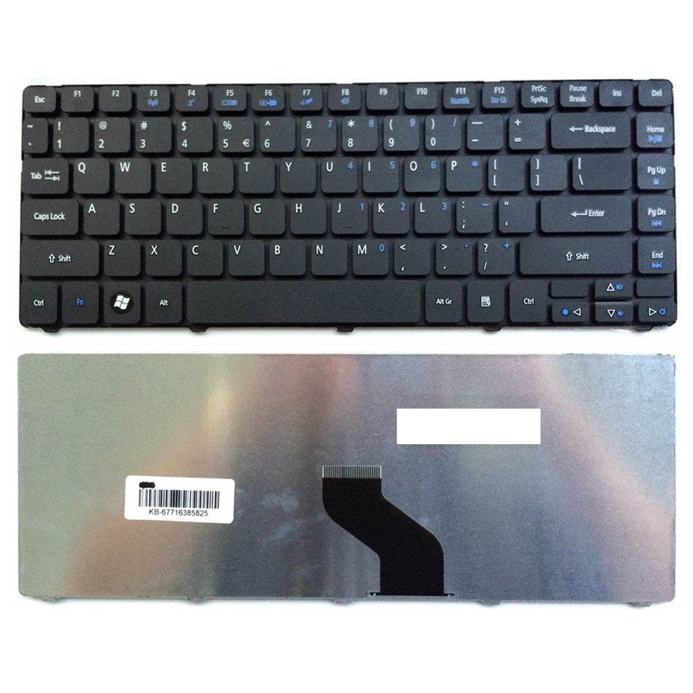 US Black New English Laptop Keyboard For Acer E1-431 ZQT MS2305 MS2316 MS2332 MS2271 MS2347 MS2306 AS 4535G 4741G 4551 4741