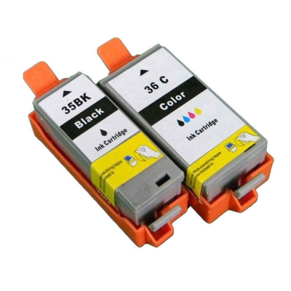 PGI-35 PGI35 PGI-35BK CLI-36C CLI-36 PGI 35 CLI 36 Ink Cartridges For Canon Pixma IP100B IP100 IP100 mini 260 320 Inkjet Printer