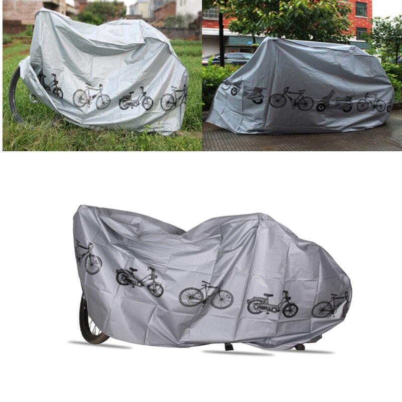 Bicicleta al aire libre portátil impermeable Scooter motocicleta de la bici lluvia cubierta de polvo bicicleta proteger Gear ciclismo accesorios de bicicletas