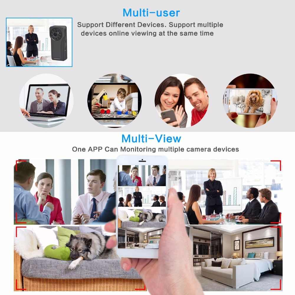 Mini Camera Wifi 1080p IP Outdoor Night Vision Android wifi Wireless Small Car Camcorder Motion Detection HD Sport Portable CAM