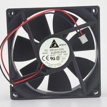 Genuine 9025 AUB0912VH 12 V 0.6A 9 CM/cm pinos PWM controle de temperatura ventilador de refrigeração