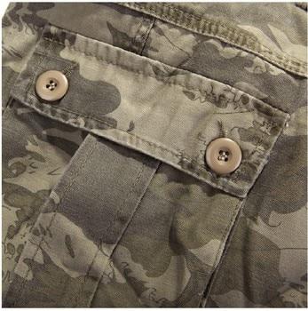 Men's Pants 2019 Fashion Brand Men Length Trousers Military Cargo Camouflage Pant Joggers Sweatpants Casual Tactical Pants 6