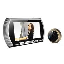 4.3 Cal HD Inteligentne Drzwi Wizjer Drzwi Widz Nagrywanie Wideo Kamera IR Noktowizor PIR Czujnik Ruchu Nie Przeszkadzać widzów dzwonek do drzwi