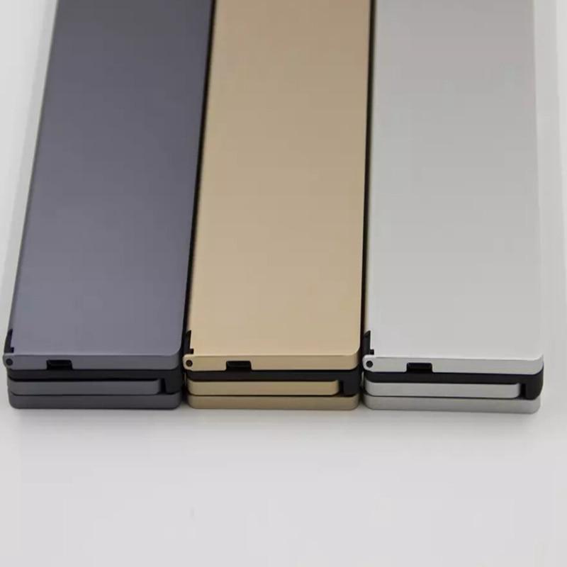 NEW Fashion Intelligent Pocket Foldable Wireless Bluetooth 3.0 Travel Keyboard Keypad For samsung tab 3 Lite T110 Tab3 T210 T310