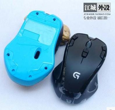 1 set original mouse top shell+bottom shell for Logitech G300S mouse case also suitable for Logitech G300 sales promotion original mouse cable for logitech g400s g300s g502 g600s mx518 g100s logitech mouse line