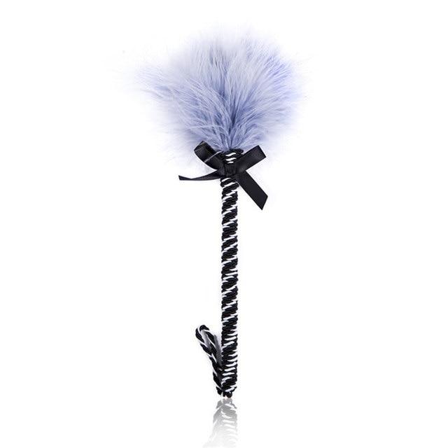 Feather Tickler Kinky Naughty Fancy Dress Spanking Paddle Whip Bondage Flogger Erotic Fetish Flirting BDSM Sex Toys For Couples