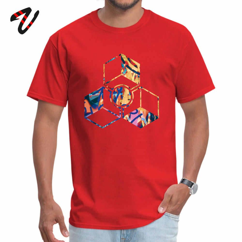 Topy i koszulki śmieszne koszulka walentynki modny Design Spartan rękaw szeryf O Neck T shirty męskie niestandardowe męskie Tshirt