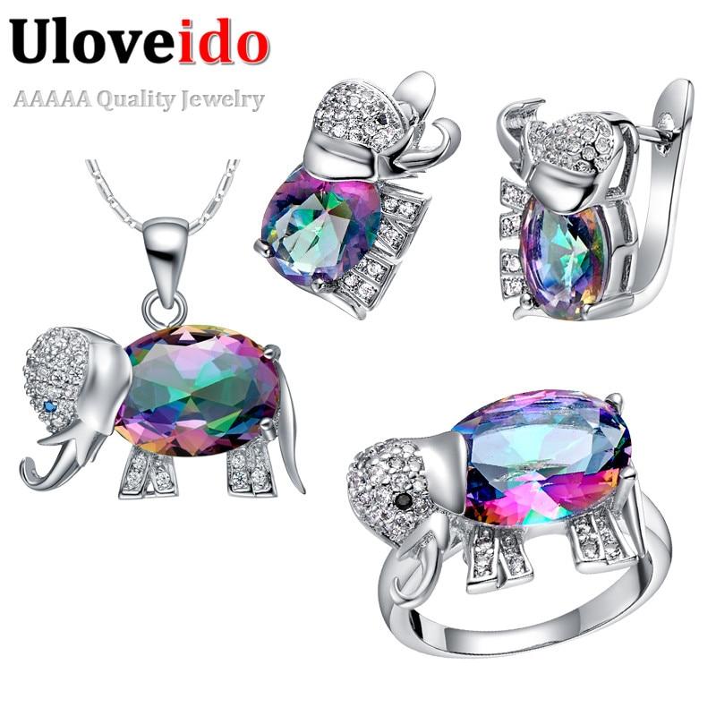 Uloveido Elephant Baby and Kids Jewelry s