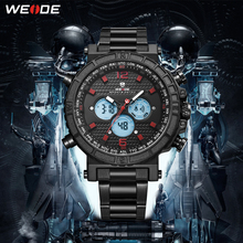 WEIDE New Sale Watches Men quartz Top Brand Analog Military Male Watches Men Sports Army Watch Waterproof Relogio Masculino все цены