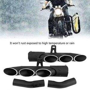 Image 4 - 오토바이 배기 머플러 중간 파이프 링크 연결 가와사키 z1000 2010 2016 tailpipe 키트 오토바이 액세서리