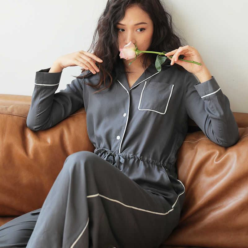 cda6385535c67 Модные женские комбинезоны пижамы повседневный комбинезон цельная Пижама  чистый цветная Пижама кусок одежды