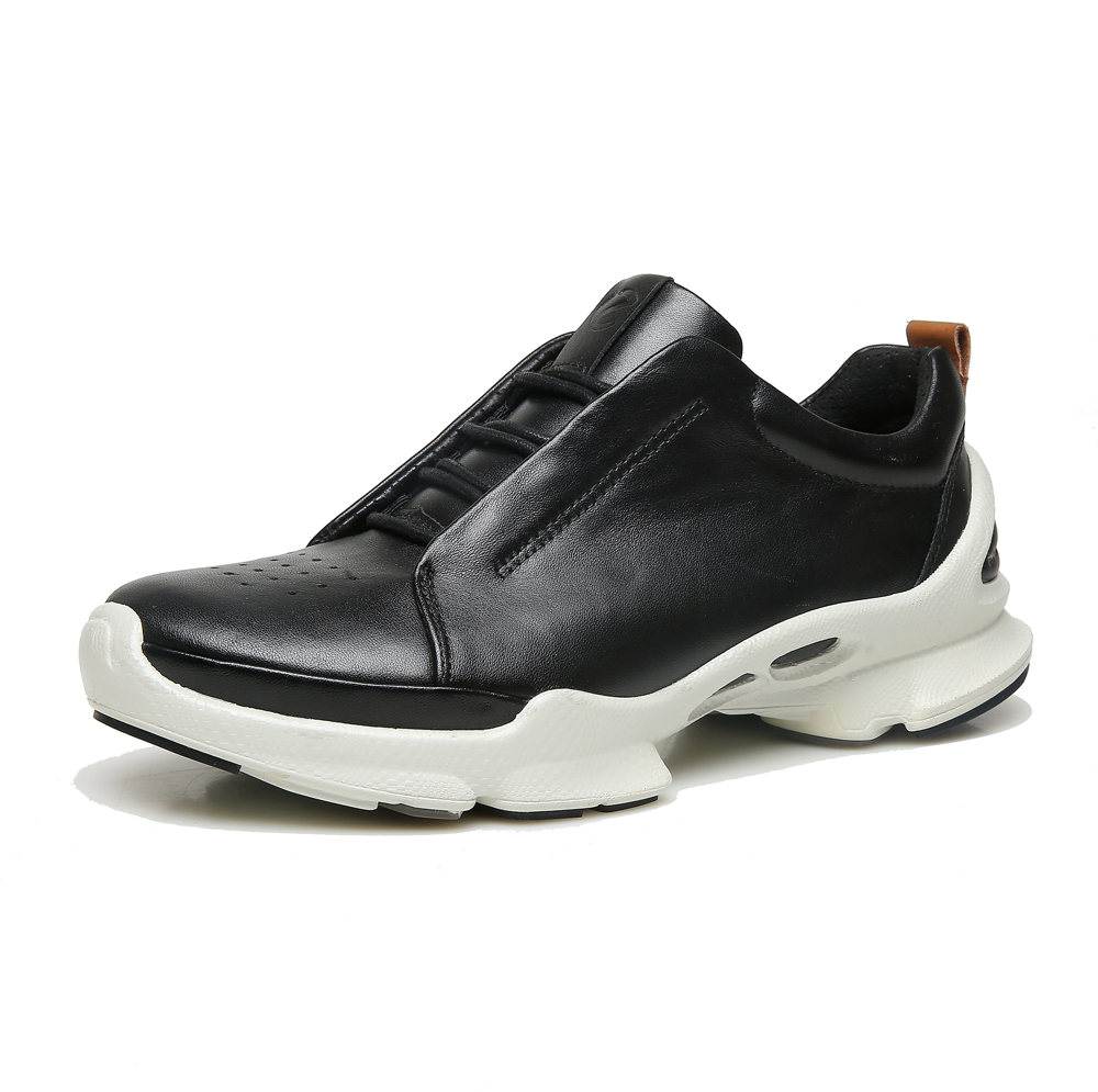 ECCO spring new business mens casual shoes classic leather shoes with mens breathable hiking shoesECCO spring new business mens casual shoes classic leather shoes with mens breathable hiking shoes