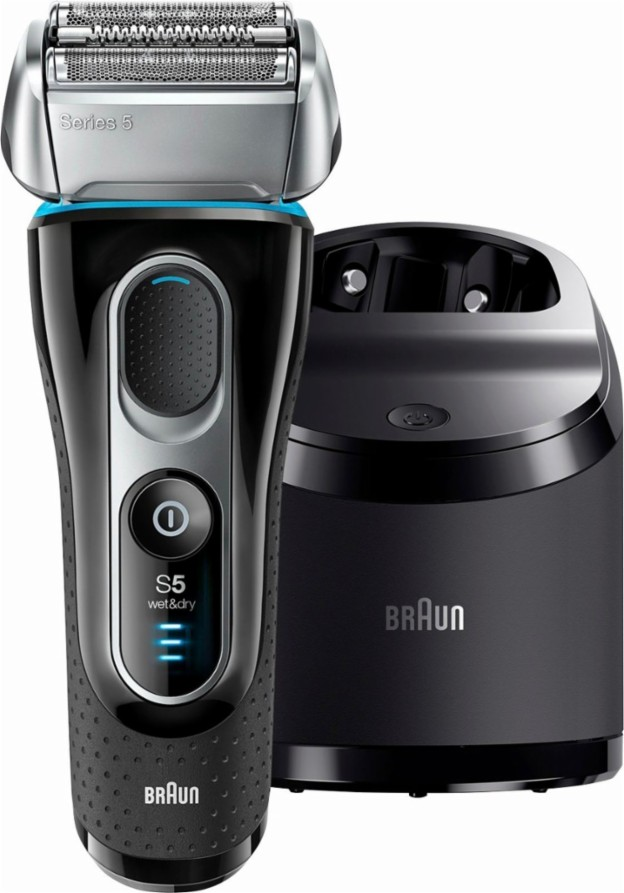 Braun Series 5 5190cc Men's Electric Shaver With Clean & Charge System