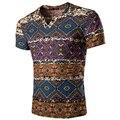 2016 топ мода лето благородный мужской Тонкая футболка мужчин топы тройник с коротким рукавом бренд мужской роскоши футболка Европейский стиль A8853